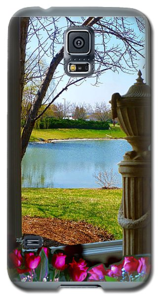 Window View Pond Galaxy S5 Case