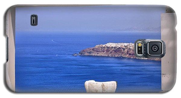 Window View To The Mediterranean Galaxy S5 Case by Madeline Ellis
