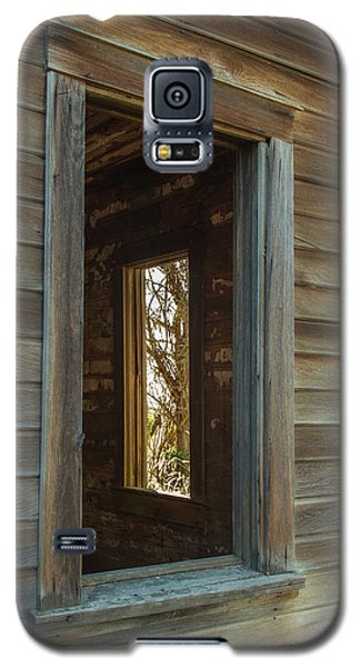 Galaxy S5 Case featuring the photograph Windows by Angie Vogel