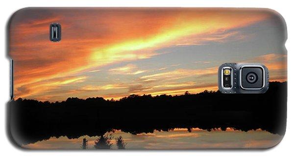 Windows From Heaven Sunset Galaxy S5 Case