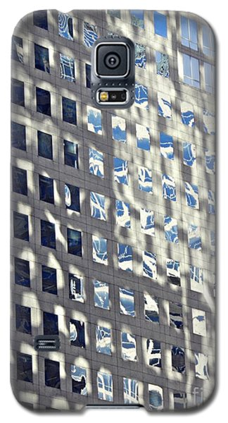 Galaxy S5 Case featuring the photograph Windows Of 2 World Financial Center 2 by Sarah Loft