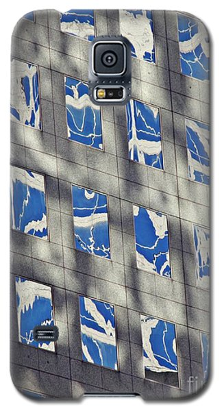 Galaxy S5 Case featuring the photograph Windows Of 2 World Financial Center 3 by Sarah Loft