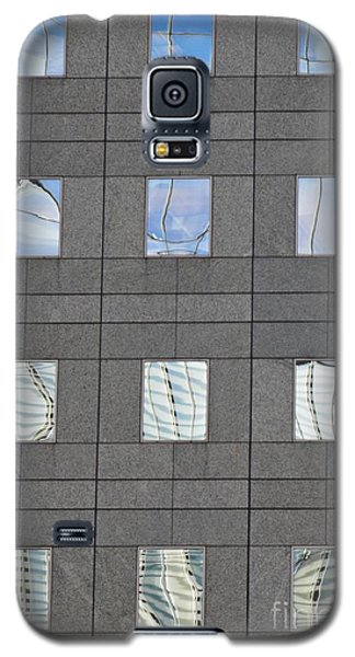 Galaxy S5 Case featuring the photograph Windows Of 2 World Financial Center   by Sarah Loft