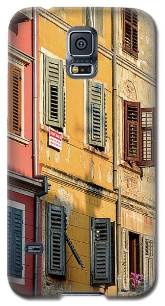 Windows Of Rovinj, Istria, Croatia Galaxy S5 Case