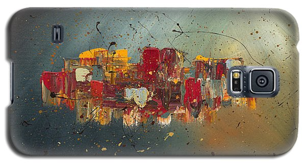 Galaxy S5 Case featuring the painting Winds Of Prosperity by Carmen Guedez