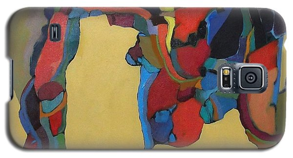Galaxy S5 Case featuring the painting Windsong by Bernard Goodman