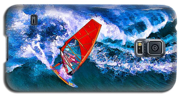 Windsurfer 1 Galaxy S5 Case by ABeautifulSky Photography