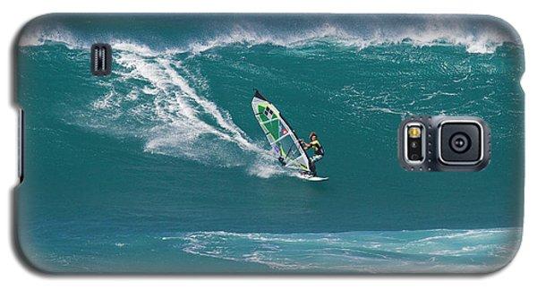 Windsurfer At Hookipa, Maui Galaxy S5 Case