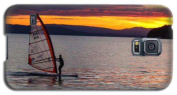 Windsurfing Lake Champlain Galaxy S5 Case