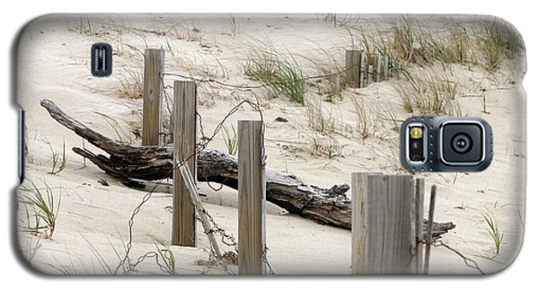 Windswept Beach Fence Cape Cod Massachusetts Galaxy S5 Case
