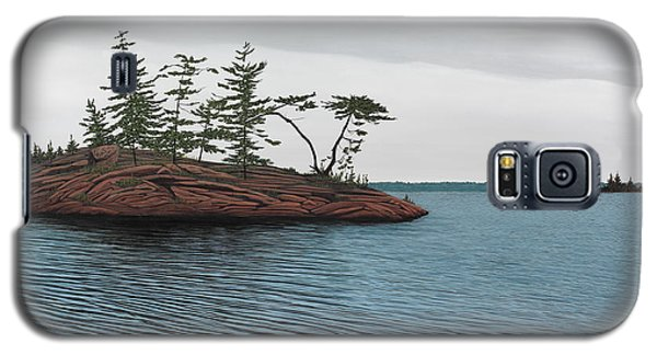 Windswept Island Georgian Bay Galaxy S5 Case