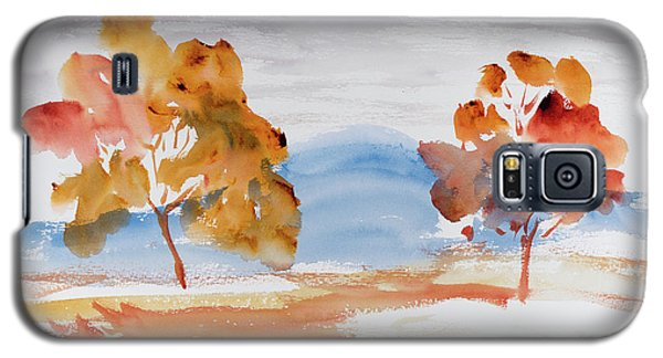 Windy Autumn Colours  Galaxy S5 Case