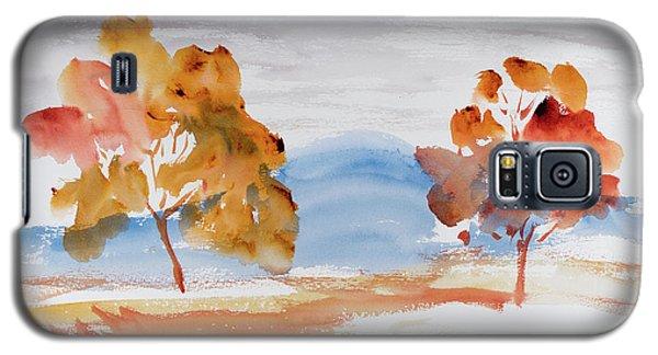 Windy Autumn Colours  Galaxy S5 Case