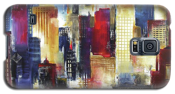 Windy City Nights Galaxy S5 Case