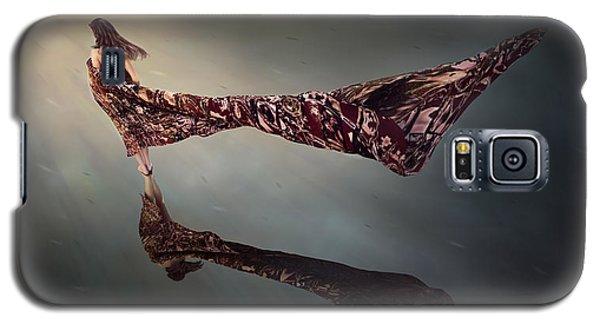 Galaxy S5 Case featuring the digital art Windy Day by Shinji K