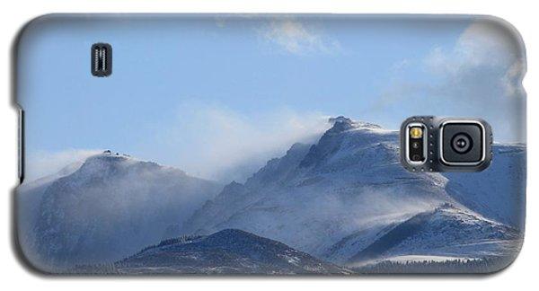 Windy Pikes Peak  Galaxy S5 Case