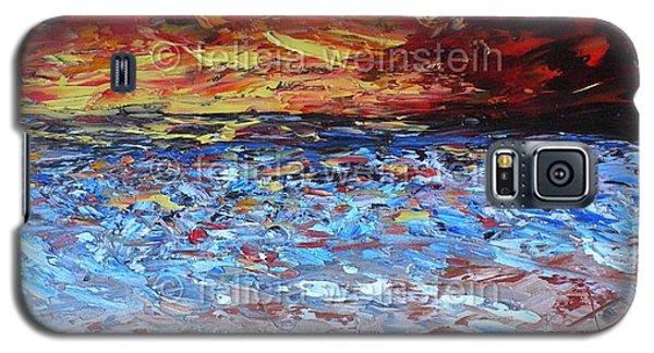 Windy Sunset Galaxy S5 Case