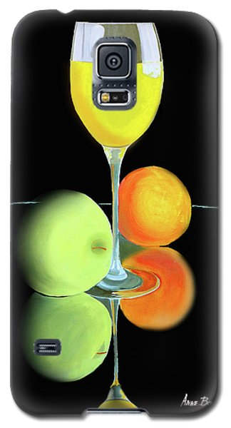 Wine And Fruit Galaxy S5 Case
