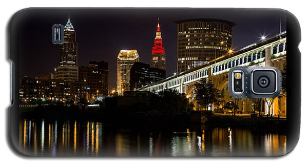 Wine And Gold In Cleveland Galaxy S5 Case