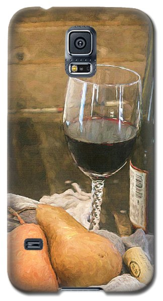 Wine And Pears Galaxy S5 Case