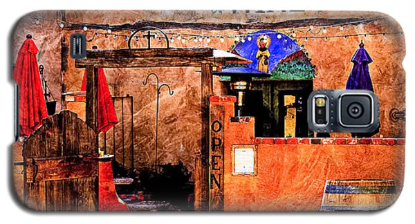 Galaxy S5 Case featuring the photograph Wine Bar Of The Southwest by Barbara Chichester