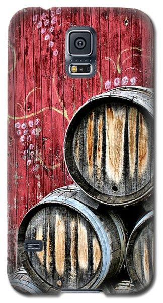 Wine Barrels Galaxy S5 Case by Doug Hockman Photography