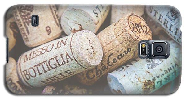 Wine Corks Galaxy S5 Case by April Reppucci
