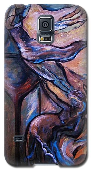 Galaxy S5 Case featuring the painting Wine Fairies by Dawn Fisher