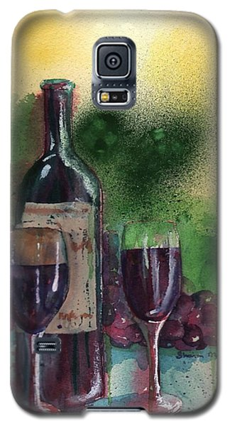Wine For Two Galaxy S5 Case by Sharon Mick