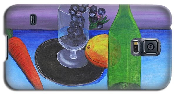Wine Glass And Fruits Galaxy S5 Case