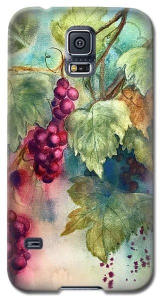 Wine Grapes Galaxy S5 Case