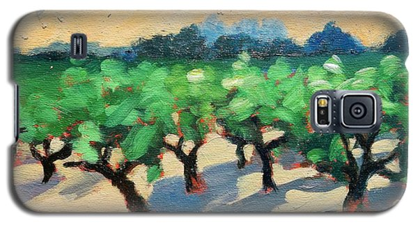 Galaxy S5 Case featuring the painting Wine Habitat by Gary Coleman