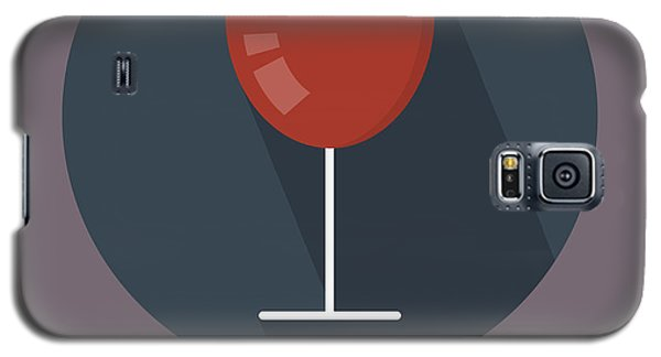 Wine Poster Print - It's Winesday Galaxy S5 Case