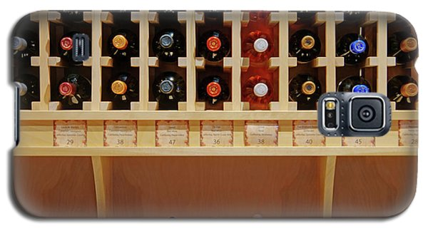 Galaxy S5 Case featuring the photograph Wine Rack - 1 by Nikolyn McDonald