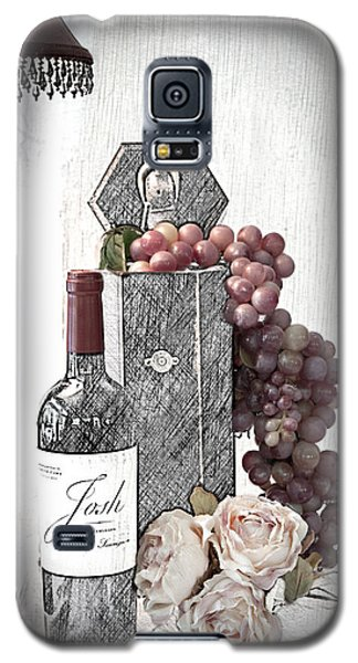 Galaxy S5 Case featuring the photograph Wine Tasting Evening by Sherry Hallemeier