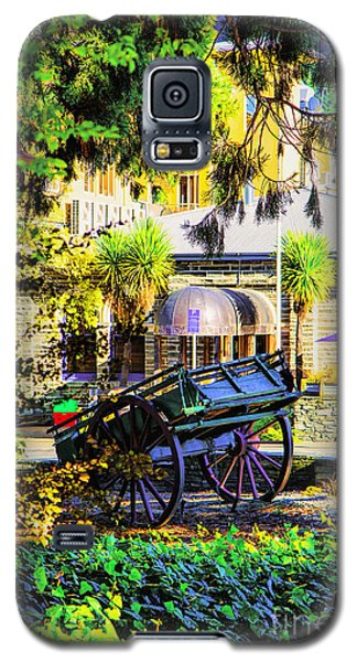 Galaxy S5 Case featuring the photograph Wine Wagon by Rick Bragan