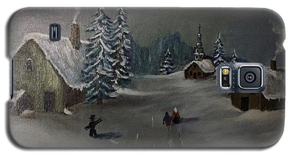 Winter In A German Village Galaxy S5 Case