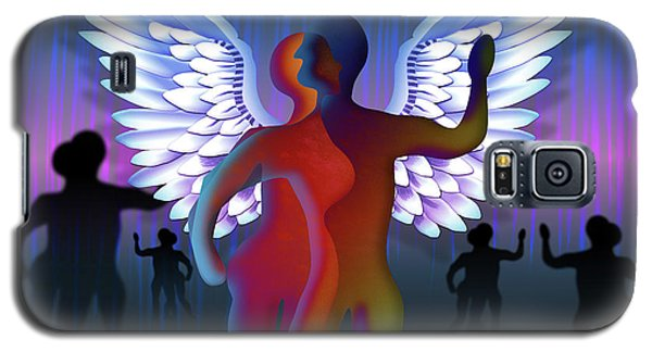 Winged Life Galaxy S5 Case by Rosa Cobos