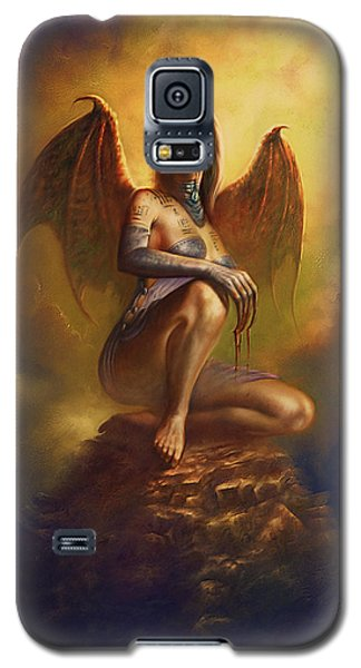 Winged Vamp Galaxy S5 Case