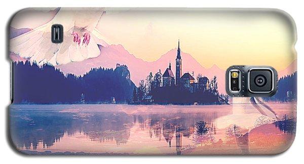 Wings Of Grace Galaxy S5 Case