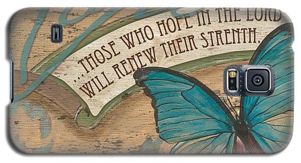 Wings Of Hope Galaxy S5 Case by Debbie DeWitt