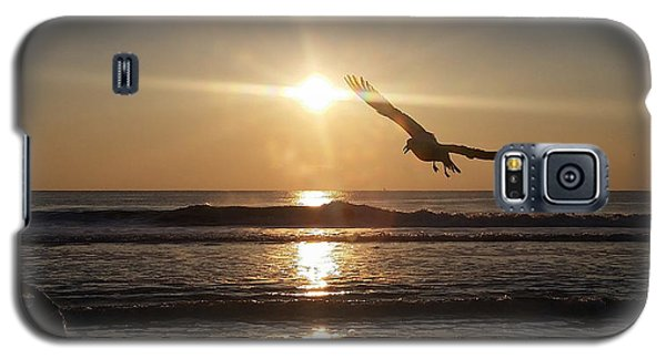 Wings Of Sunrise Galaxy S5 Case