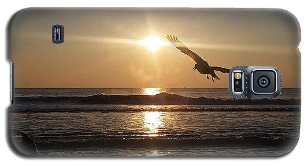 Wings Of Sunrise Galaxy S5 Case