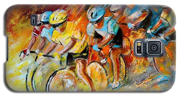Winning The Tour De France Galaxy S5 Case