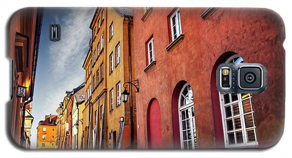 Galaxy S5 Case featuring the photograph Winsome Warsaw  by Carol Japp