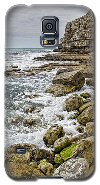 Winspit Cove In Dorset Galaxy S5 Case