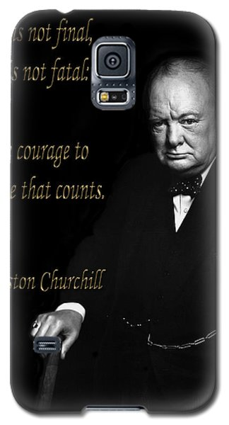 Winston Churchill 1 Galaxy S5 Case