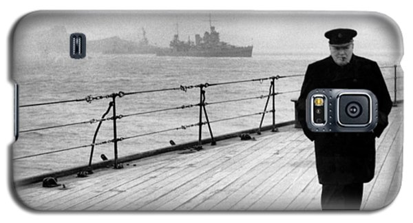Transportation Galaxy S5 Case - Winston Churchill At Sea by War Is Hell Store