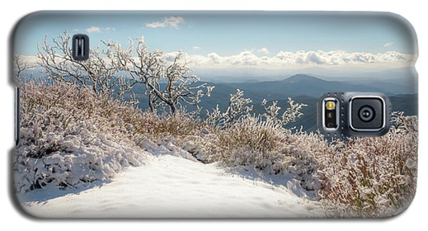 Winter Above The Land Galaxy S5 Case