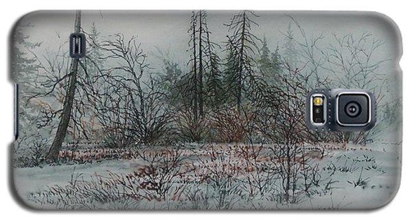 Winter, Alberta Galaxy S5 Case